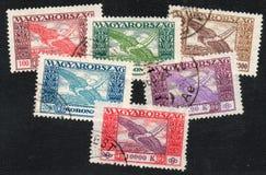 Timbres de Hongrois Image stock