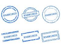 Timbres de revenus illustration libre de droits