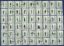 Timbres-poste. Images libres de droits