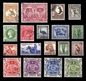 Timbres-poste d'Australie Photo stock