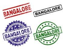 Timbres texturisés rayés de joint de BANGALORE illustration libre de droits