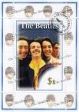 Timbri con il Beatles Fotografia Stock Libera da Diritti