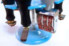 Timbro di gomma Fotografie Stock