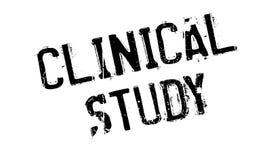 Timbro di gomma clinico di studio Immagini Stock