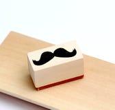 Timbro di gomma dei baffi Concetto di consapevolezza di salute del ` s degli uomini di Movember Immagini Stock Libere da Diritti