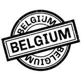 Timbro di gomma del Belgio Fotografia Stock