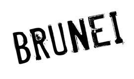 Timbro di gomma del Brunei royalty illustrazione gratis