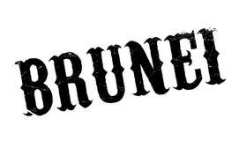 Timbro di gomma del Brunei illustrazione vettoriale