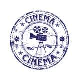 Timbro di gomma del cinematografo Immagine Stock