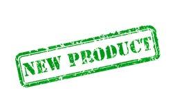 Timbro di gomma del nuovo prodotto Immagini Stock Libere da Diritti