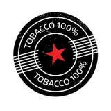Timbro di gomma del tabacco 100 Immagine Stock