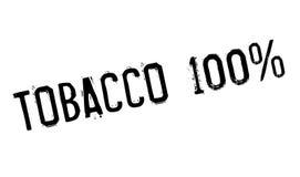 Timbro di gomma del tabacco 100 Fotografia Stock Libera da Diritti