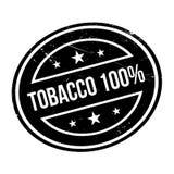 Timbro di gomma del tabacco 100 Fotografie Stock Libere da Diritti