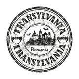 Timbro di gomma del Transylvania Fotografia Stock