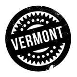 Timbro di gomma del Vermont Fotografie Stock Libere da Diritti