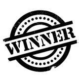 Timbro di gomma del vincitore Fotografia Stock