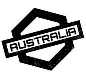 Timbro di gomma dell'Australia royalty illustrazione gratis