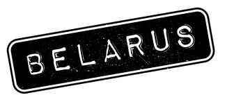 Timbro di gomma della Bielorussia Fotografia Stock