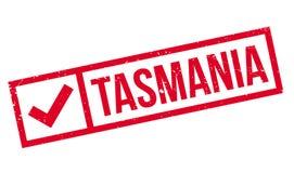 Timbro di gomma della Tasmania illustrazione vettoriale