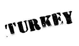 Timbro di gomma della Turchia Fotografie Stock Libere da Diritti