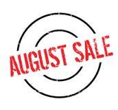 Timbro di gomma di August Sale Fotografie Stock