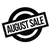 Timbro di gomma di August Sale Fotografie Stock Libere da Diritti