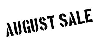 Timbro di gomma di August Sale Immagine Stock