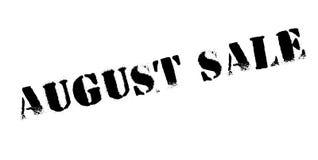 Timbro di gomma di August Sale Immagine Stock Libera da Diritti