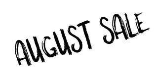 Timbro di gomma di August Sale Fotografia Stock Libera da Diritti