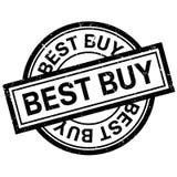 Timbro di gomma di Best Buy Fotografia Stock