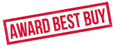 Timbro di gomma di Best Buy del premio Immagini Stock Libere da Diritti