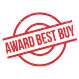 Timbro di gomma di Best Buy del premio Fotografia Stock