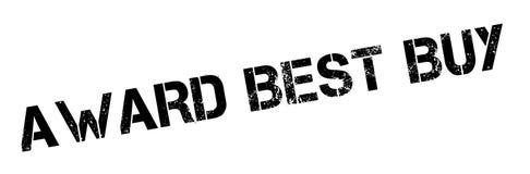 Timbro di gomma di Best Buy del premio Immagine Stock