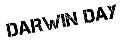 Timbro di gomma di Darwin Day illustrazione di stock