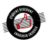Timbro di gomma di Discount dello studente illustrazione vettoriale