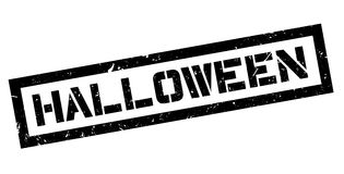 Timbro di gomma di Halloween Fotografie Stock
