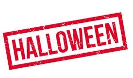 Timbro di gomma di Halloween Fotografie Stock Libere da Diritti