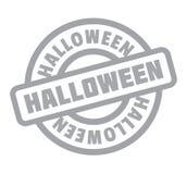Timbro di gomma di Halloween Immagini Stock