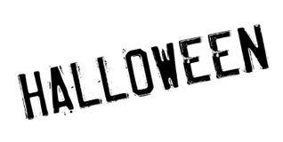 Timbro di gomma di Halloween Fotografia Stock Libera da Diritti