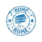 Timbro di gomma di Roma Immagini Stock