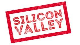 Timbro di gomma di Silicon Valley Immagine Stock Libera da Diritti