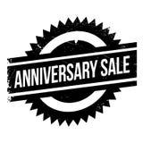 Timbro di gomma di vendita di anniversario Fotografia Stock Libera da Diritti