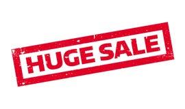 Timbro di gomma enorme di vendita illustrazione di stock