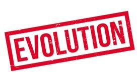 Timbro di gomma di evoluzione royalty illustrazione gratis