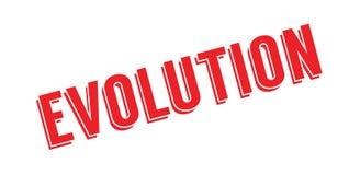Timbro di gomma di evoluzione illustrazione di stock