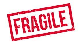 Timbro di gomma fragile royalty illustrazione gratis