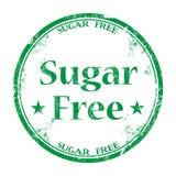 Timbro di gomma libero di lerciume dello zucchero Fotografia Stock Libera da Diritti