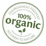 Timbro di gomma organico Immagine Stock Libera da Diritti