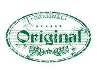 Timbro di gomma originale Immagini Stock