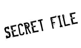 Timbro di gomma segreto dell'archivio Immagine Stock Libera da Diritti